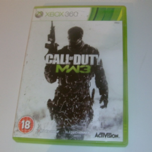 XBOX 360 Call of duty modern warfare 3T game boxed complete
